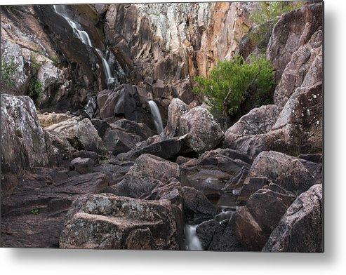 Australia Metal Print featuring the photograph Crows Nest Falls During The Day. by Rob D