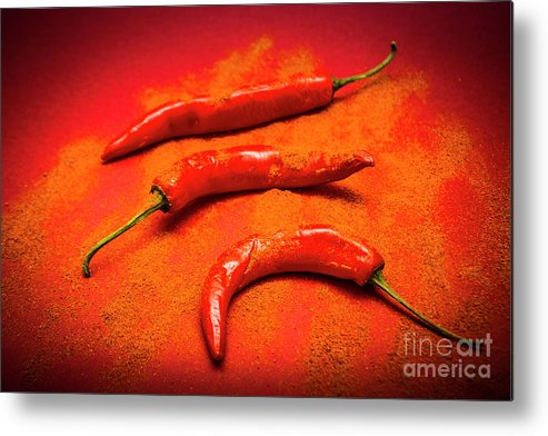 Curry Metal Print featuring the photograph Curry Shop Art by Jorgo Photography - Wall Art Gallery