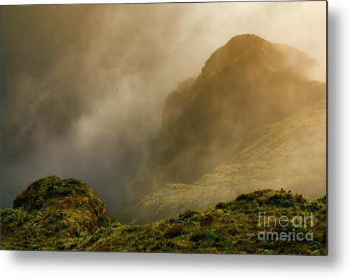 Azores Metal Print featuring the photograph Dawn At Fogo Crater by Gaspar Avila