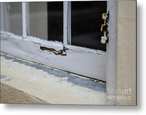 Wood Metal Print featuring the photograph Decay by Dale Powell