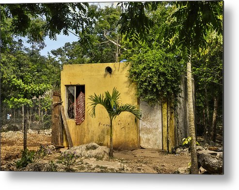 Mexico Metal Print featuring the photograph Deluxe Accommodations by Jim Bembinster