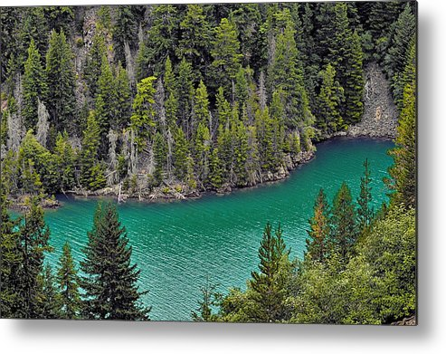 Turquoise Metal Print featuring the photograph Diabolo Lake North Cascades Np Wa by Christine Till