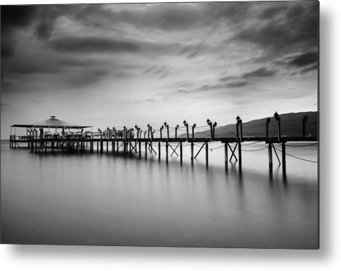 Dock Metal Print featuring the photograph Dock At Autumn by Dogukan Benli