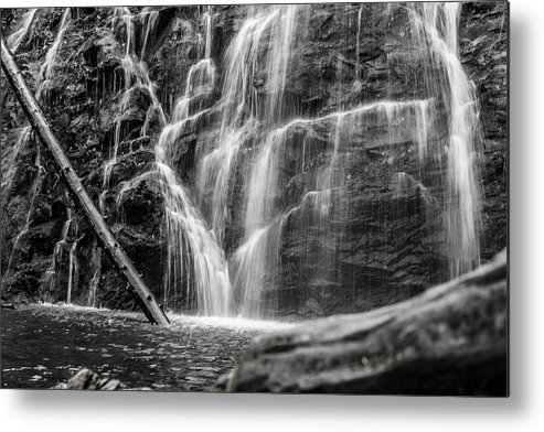 Waterfall Metal Print featuring the photograph Draped. by Jason Meyer