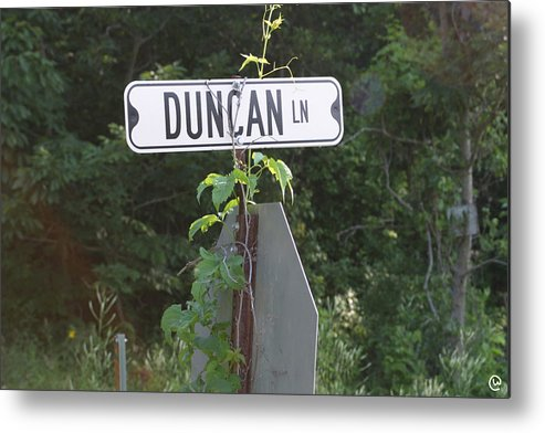 Rural Metal Print featuring the photograph Duncan Ln by Bjorn Sjogren