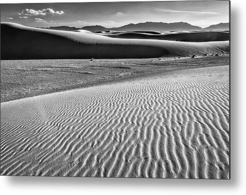 White Sands Metal Print featuring the photograph Dunes Details by Diana Powell