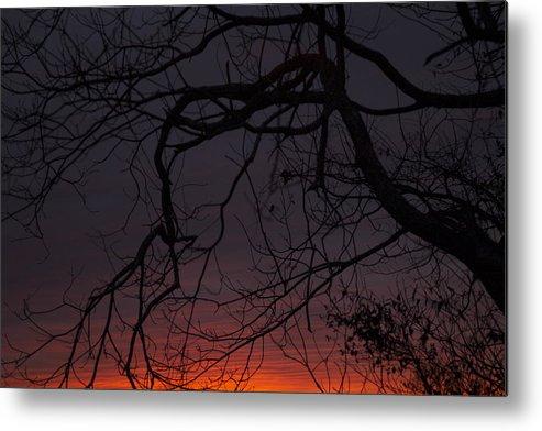 Sunset Metal Print featuring the photograph Dusk by Doug Bartholomew