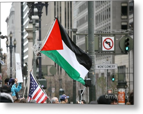 Egypt Metal Print featuring the photograph Egypt Rally I by Chuck Kuhn