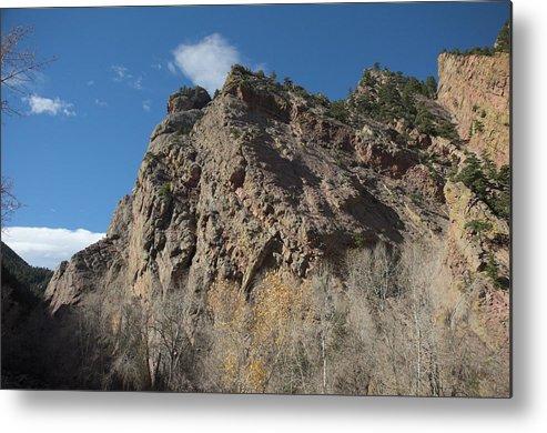 Colorado Metal Print featuring the photograph Eldorado Canyon Hill by Timothy Ruf