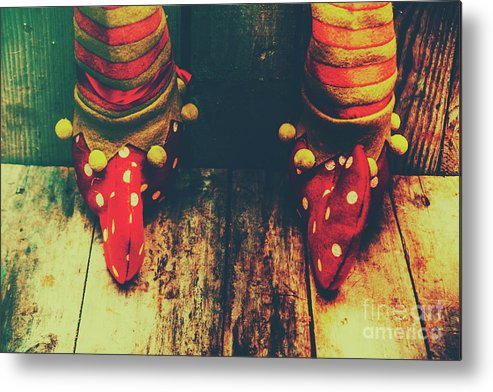 Christmas Metal Print featuring the photograph Elves And Feet by Jorgo Photography - Wall Art Gallery
