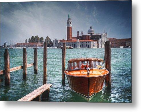 Venice Metal Print featuring the photograph Enchanting Venice by Carol Japp