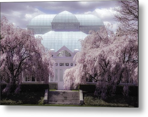 Enid Haupt Conservatory New York Botanical Garden Metal Print By