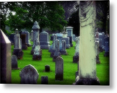 Cemetery Metal Print featuring the photograph Ethereality by Carl Perry
