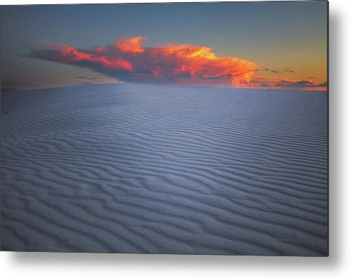 White Metal Print featuring the photograph Explosion Of Colors by Edgars Erglis