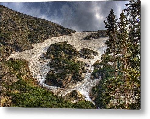 Landscape Metal Print featuring the photograph Extreme Trail by Pete Hellmann