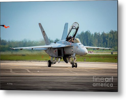 Boeing F-18 Super Hornet Metal Print featuring the photograph F-18 Super Hornet by Rene Triay Photography