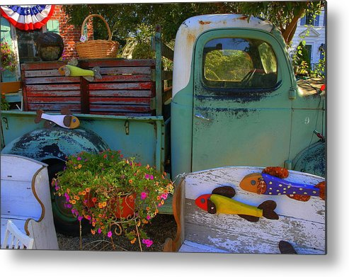Metal Print featuring the photograph Fall Americana by Curtis Brackett