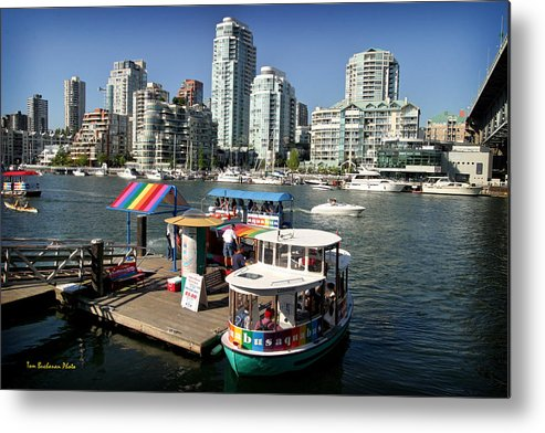 False Creek Metal Print featuring the photograph False Creek In Vancouver by Tom Buchanan