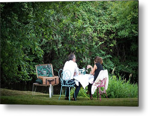 Picnic Metal Print featuring the photograph Fantasy Picnic by Mary Walker