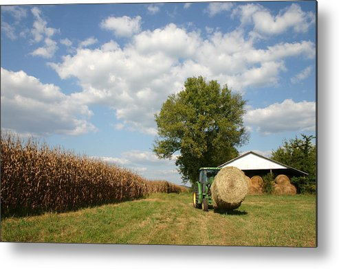 Farm Metal Print featuring the photograph Farm Life by Patricia Montgomery