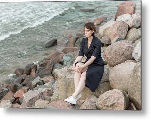 Beautiful Metal Print featuring the photograph Fashion # 49 by Igor Smirnoff