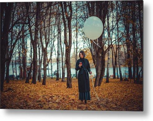 Autumn Metal Print featuring the photograph Fashion # 76 by Igor Smirnoff