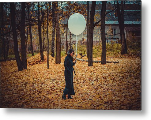 Autumn Metal Print featuring the photograph Fashion # 80 by Igor Smirnoff