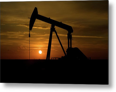 Driller Metal Print featuring the photograph Fireball by Jonas Wingfield