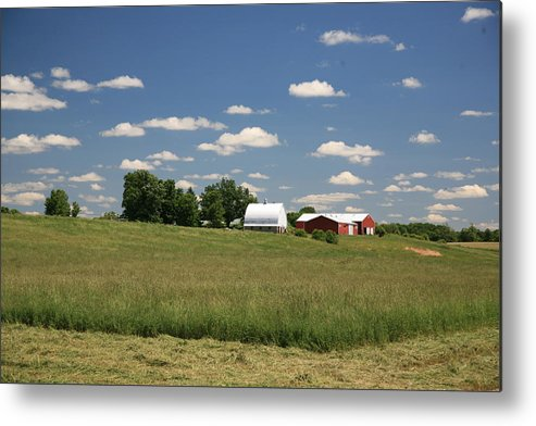 Farm Metal Print featuring the photograph First Cutting by Robert Pearson