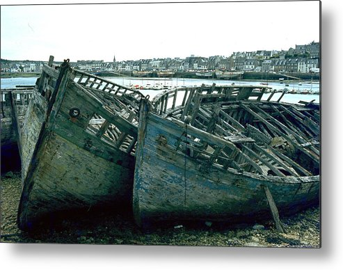 Fisher Boats Metal Print featuring the photograph Fisher Boats by Flavia Westerwelle