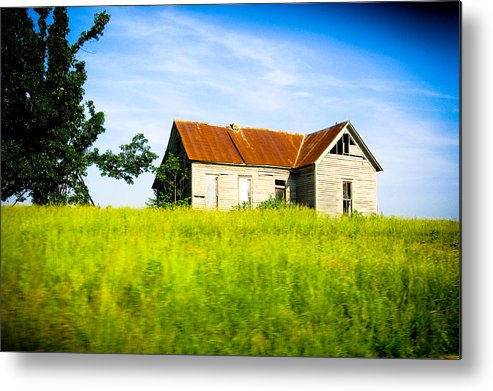 Landscape Metal Print featuring the photograph Fixer Upper by Melissa Riggs