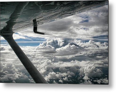 Cessna Metal Print featuring the photograph Flight Of Dreams by Patricia Montgomery