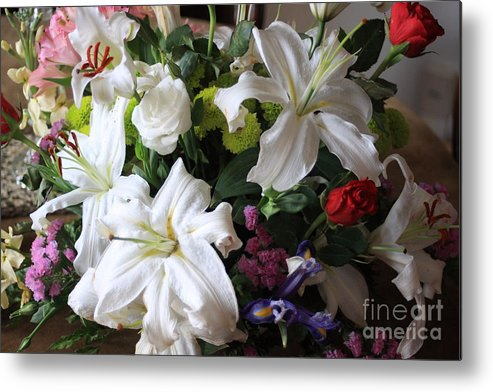 Flowers Metal Print featuring the photograph Flowers by Michael Henderson
