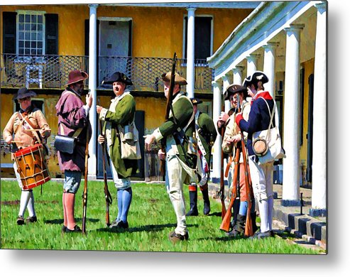 Soldiers Metal Print featuring the photograph Fort Mifflin - Philadelphia by Bill Cannon