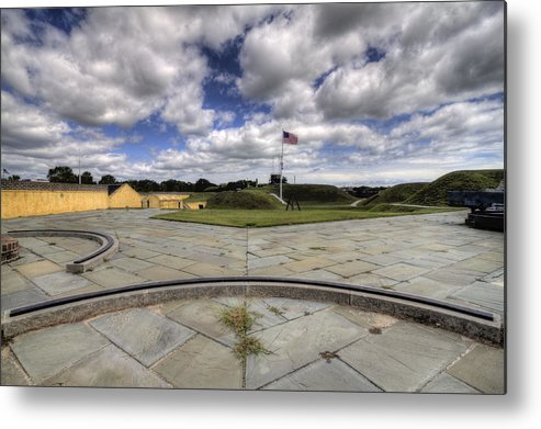 Fort Metal Print featuring the photograph Fort Moultrie by Dustin K Ryan