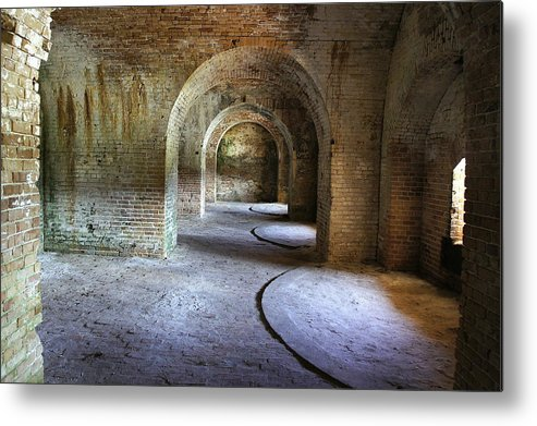 Fort Metal Print featuring the photograph Fort Pickens 3 by Laurie Perry
