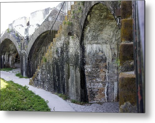 Fort Metal Print featuring the photograph Fort Walls by Laurie Perry