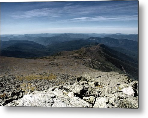 Mountains Metal Print featuring the photograph From The Summit by Ross Powell