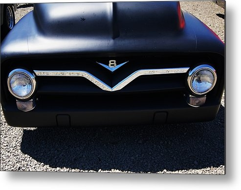 Car Metal Print featuring the photograph Front End by Angi Parks