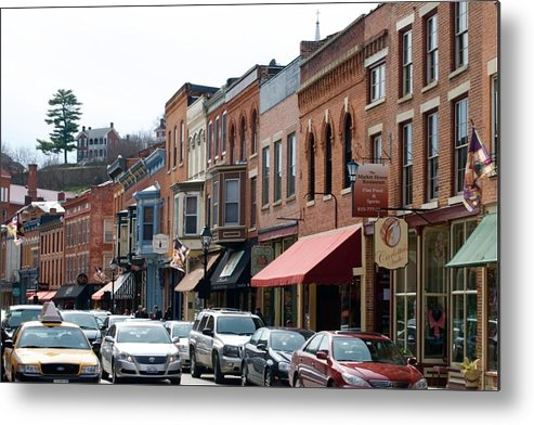 Illinois Metal Print featuring the photograph Galena by Jim Bartlett