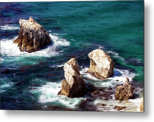 Photo Metal Print featuring the photograph Garrapata Highlands 9 by Alan Hausenflock