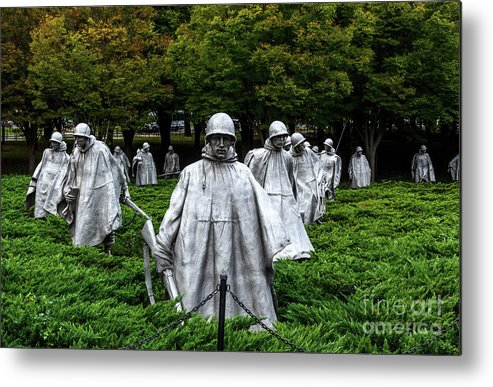 Ghost Soldiers Metal Print featuring the photograph Ghost Soldiers by Davids Digits