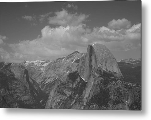 Half Dome Metal Print featuring the photograph Glacier Point by Travis Day
