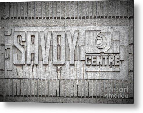Glasgow Metal Print featuring the photograph Glasgow Savoy Centre by Antony McAulay