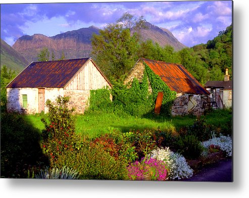 Scotland Metal Print featuring the photograph Glencoe Village by John McKinlay