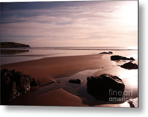 Stanley Metal Print featuring the digital art Godfrey's Beach Sunrise by Michelle Stevens