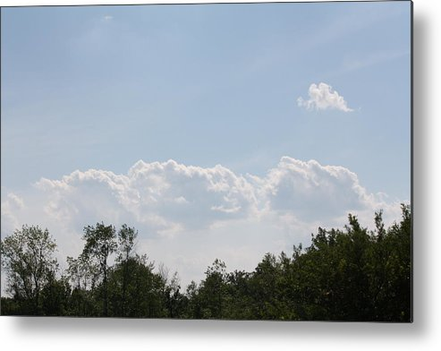 Sky Metal Print featuring the photograph Gods Canvas by Jennifer Francisco