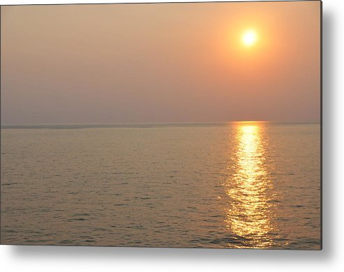 Landscape Metal Print featuring the photograph Golden Sunrise by Bill Perry