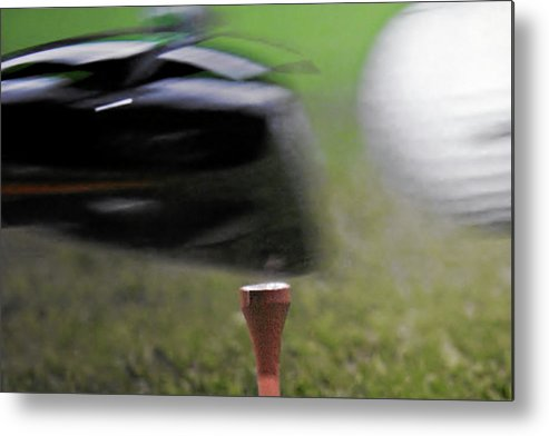 Golf Metal Print featuring the photograph Golf Sport Or Game by Christine Till