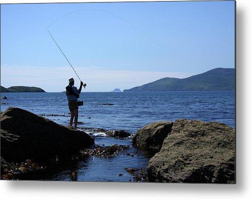 Fishing Metal Print featuring the photograph Gone Fishing by Aidan Moran